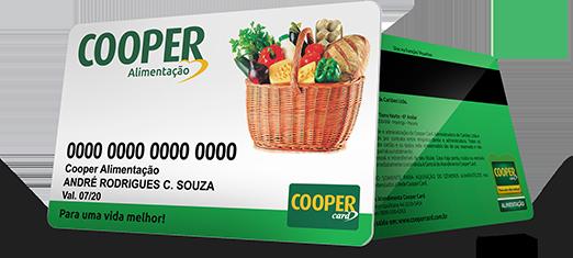 Cartão Vale Alimentação Cooper Card