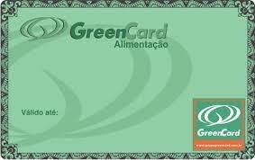 Cartão Vale Alimentação Green Card